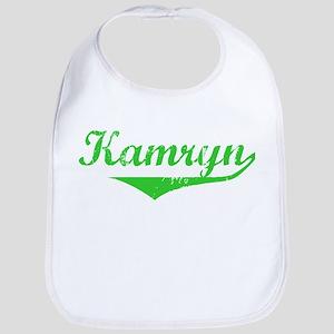 Kamryn Vintage (Green) Bib