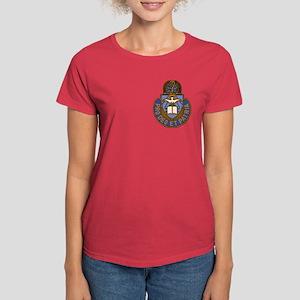 Chaplain Crest Women's Dark T-Shirt
