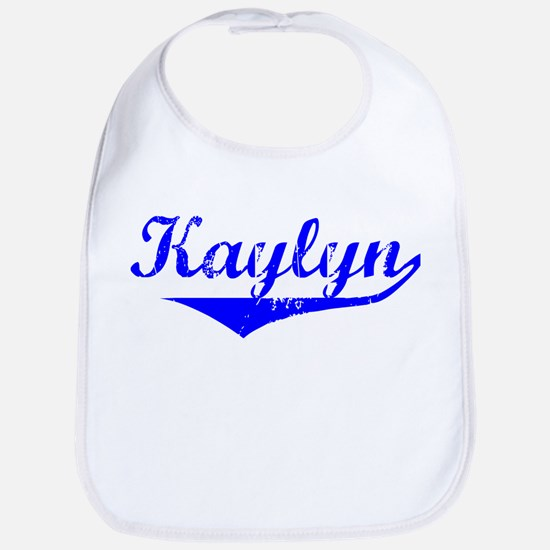 Kaylyn Vintage (Blue) Bib