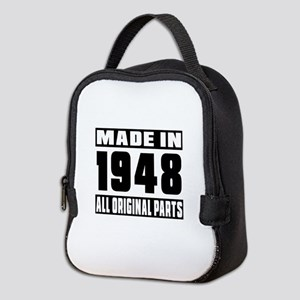 Made In 1948 Neoprene Lunch Bag