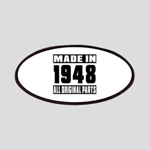 Made In 1948 Patch