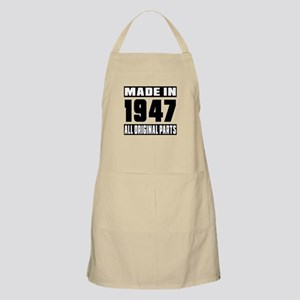 Made In 1947 Apron