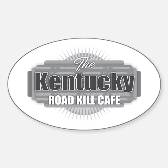 Kentucky Road Kill Cafe Decal