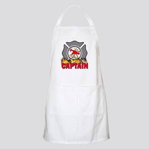 Fire Department Captain BBQ Apron