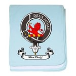 Badge - MacDuff baby blanket