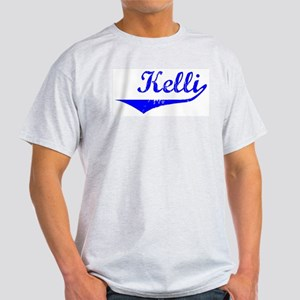 Kelli Vintage (Blue) Light T-Shirt