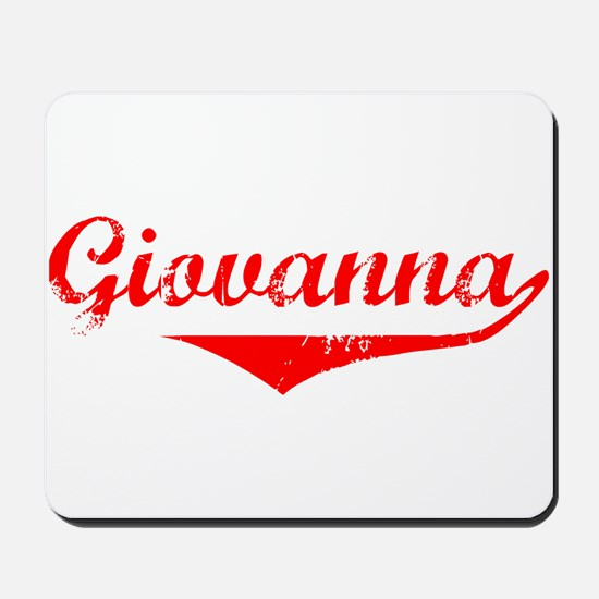 Giovanna Vintage (Red) Mousepad