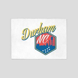 Durham, NC 5'x7'Area Rug