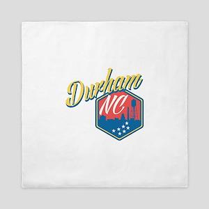 Durham, NC Queen Duvet