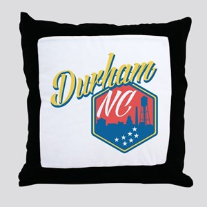 Durham, NC Throw Pillow