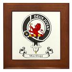 Badge - MacDuff Framed Tile