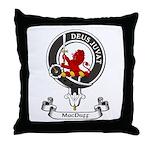 Badge - MacDuff Throw Pillow