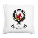 Badge - MacDuff Square Canvas Pillow