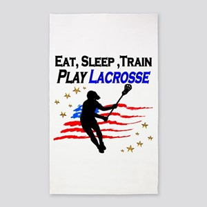 LACROSSE PLAYER Area Rug