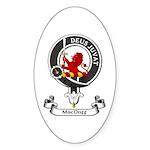 Badge - MacDuff Sticker (Oval 50 pk)