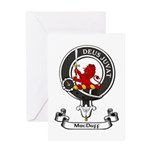 Badge - MacDuff Greeting Card