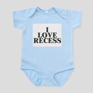 I Love Recess Infant Creeper