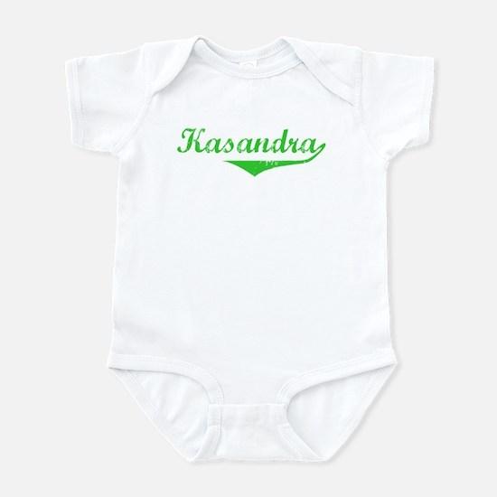 Kasandra Vintage (Green) Infant Bodysuit