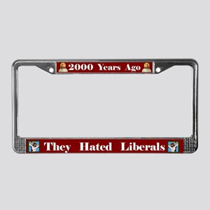 2000 Years #1 License Plate Frame