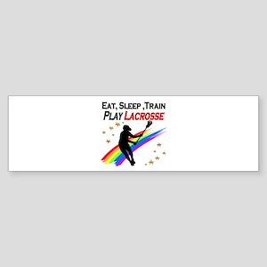 LACROSSE PLAYER Sticker (Bumper)