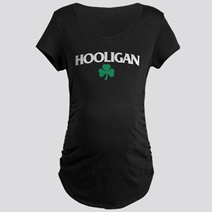 Irish Hooligan Maternity Dark T-Shirt