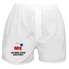 World Revolves Around Me Boxer Shorts