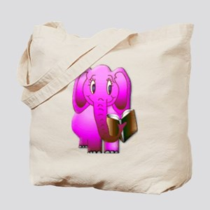 Smarter Elephant Tote Bag