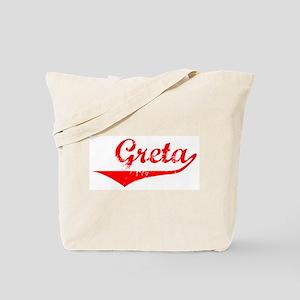 Greta Vintage (Red) Tote Bag