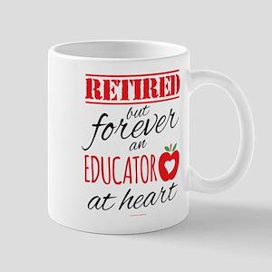 Retired Educator at Heart Mugs