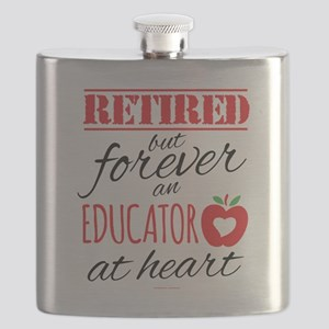 Retired Educator at Heart Flask