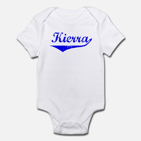 Kierra Vintage (Blue) Infant Bodysuit