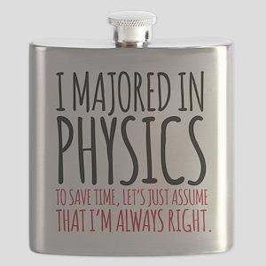 Majored in Physics Fun Flask