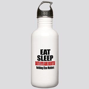 Eat Sleep Daito Ryu Ai Stainless Water Bottle 1.0L