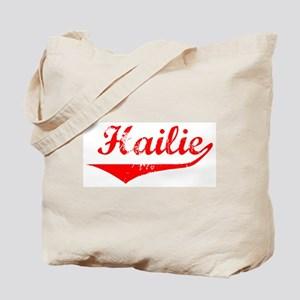 Hailie Vintage (Red) Tote Bag