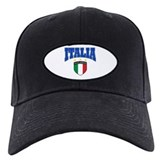 Italian soccer Baseball Cap with Patch