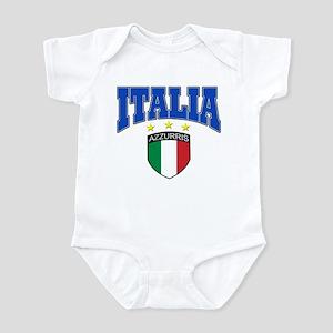 Italian soccer design Infant Bodysuit