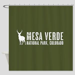 Deer: Mesa Verde, Colorado Shower Curtain