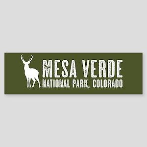 Deer: Mesa Verde, Colorado Sticker (Bumper)