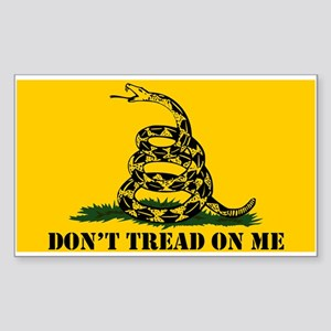 Dont Tread on Me Gadsden Flag Sticker