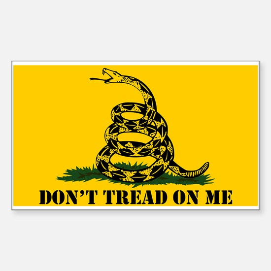 Dont Tread on Me Gadsden Flag Decal
