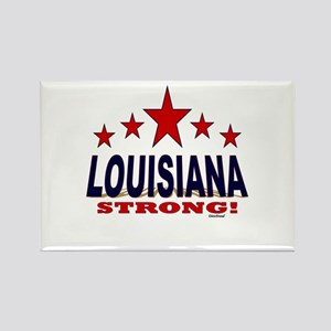 Louisiana Strong! Rectangle Magnet
