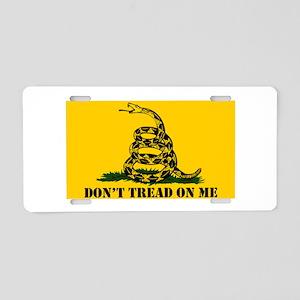 Dont Tread on Me Gadsden Fl Aluminum License Plate