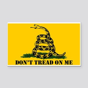 Dont Tread on Me Gadsden Flag Rectangle Car Magnet