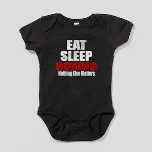 Eat Sleep Boxing Baby Bodysuit