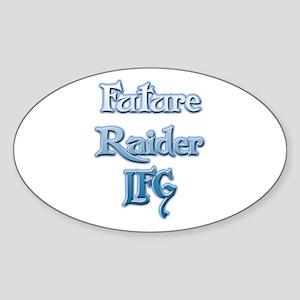 Boy's Future Raider LFG Oval Sticker