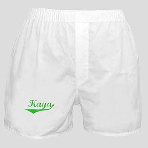 Kaya Vintage (Green) Boxer Shorts