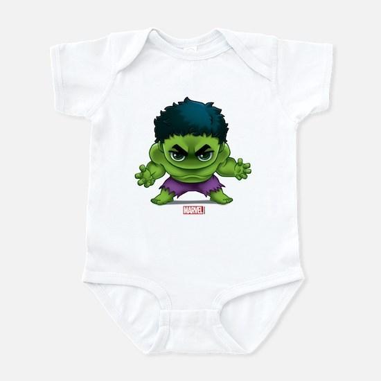 Hulk Stylized Baby Light Bodysuit