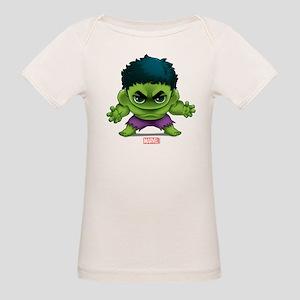 Hulk Stylized Organic Baby T-Shirt