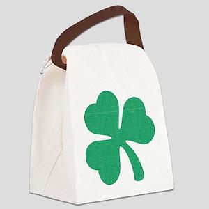 Irish Shamrock Canvas Lunch Bag
