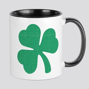 Irish Shamrock 11 oz Ceramic Mug